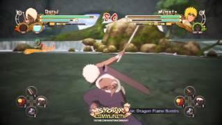 Naruto Shippuden Ultimate Ninja Storm 3 - Gameplay and Awakening of Darui