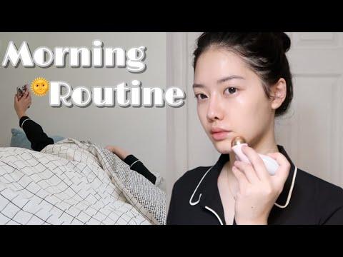 【小神龙】morning-skincare-routine-周末晨间护肤- -成为牛奶肌的完整护肤步骤