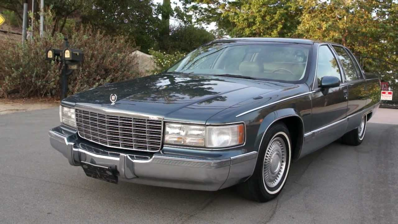 1 Owner 94 Cadillac Fleetwood Brougham 5.7 350 Bubble Body ...