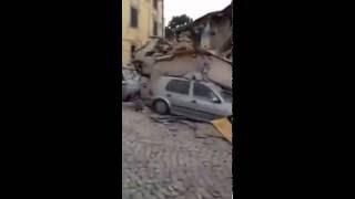Σεισμός -terremoto - sismo - earthquake Rieti, Amatrice 24-08-2016