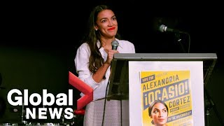 Midterm Elections: Alexandria Ocasio-Cortez becomes the youngest woman ever elected to U.S. Congress