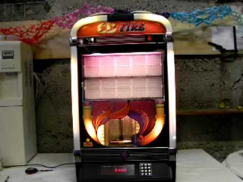 jukebox 100cd fire nsm a vendre youtube. Black Bedroom Furniture Sets. Home Design Ideas