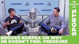 Brooks Koepka doesn't feel pressure on Sundays