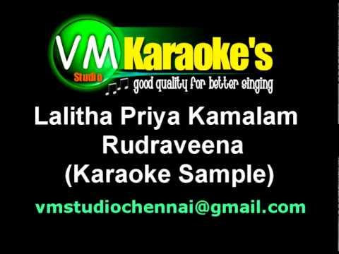 Lalitha Priya Kamalam (Karaoke Sample) .mpg