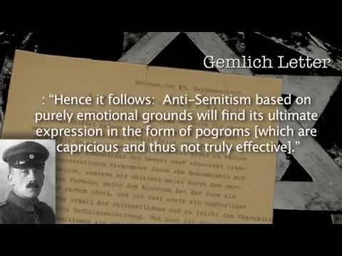 Nazi Racial Ideology: The Martin Niemoller Story
