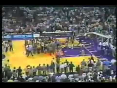 Doc Rivers and Kevin Johnson fight part two
