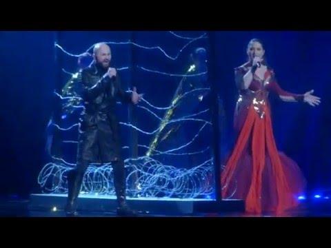 "Dalal & Deen feat. Ana Rucner & Jala ""Ljubav je"" (Bosnia&Herzegovina) 2nd rehearsal - ESC 2016"