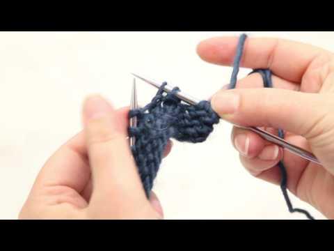 How to Slip Slip Knit (ssk)
