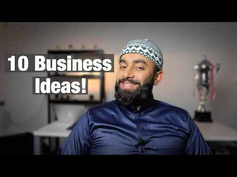 10 BUSINESS IDEAS FOR 2021 ALL HALAL!