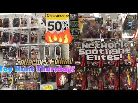 Finding WWE Elite Network Spotlight Figures! Toy Hunt Thursday Pt.6! JRus