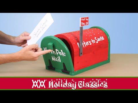 How to make Santa's Mailbox
