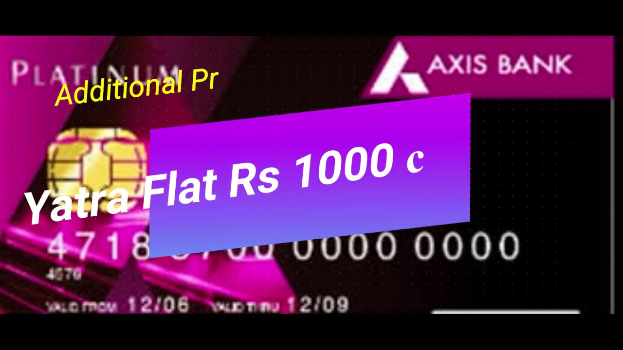 axis bank rupay platinum debit card annual charges