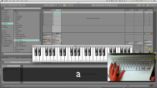 Using VMPK to show midi notes from computer keyboard in Ableton Live