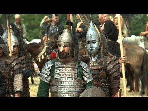 Ancient warriors ride in to celebrate Hungarian culture