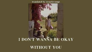 Gambar cover I don't wanna be okay without you - Charlie Burg [แปล/thaisub]