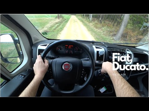 Fiat Ducato 2.3 MultiJet II (96 kW; 130 HP) | 4K POV Test Drive #110 Joe Black