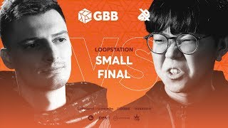 INKIE vs SO-SO   Grand Beatbox Battle 2019   LOOPSTATION Small Final
