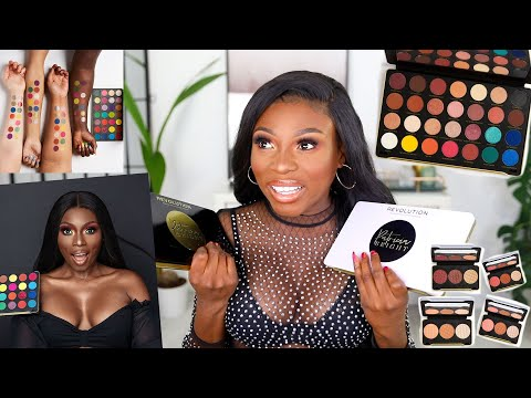 MAKEUP REVOLUTION X PATRICIA IS FINALLY HERE! - FULL COLLECTION REVEAL *EMOTIONAL*