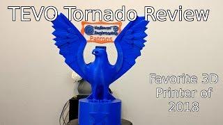 TEVO Tornado In-Depth Review: Favorite entry-level 3D Printer of 2018