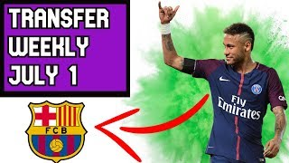 Why Neymar's Return To Barcelona Is Nearly Impossible (Transfer Weekly #1)