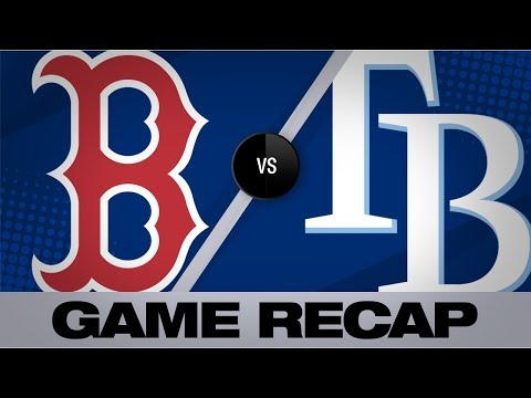 Lowe's home run lifts Rays to walk-off win   Red Sox-Rays Game Highlights 9/21/19