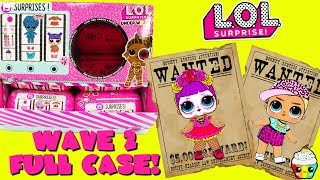 LOL Surprise Under Wraps WAVE 2 FULL CASE + Complete Wave 1 Collection