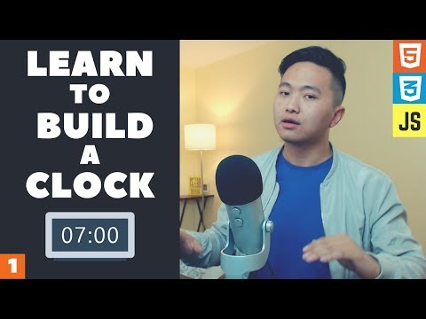 Learn To Code A Digital Clock With Html, Css, And Javascript (Part 1)