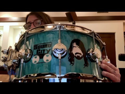 Dave Grohl presents his DW ICON Snare Drum
