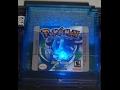 Shining flickering Pokemon Crystal & Trip World Gameboy cart mod