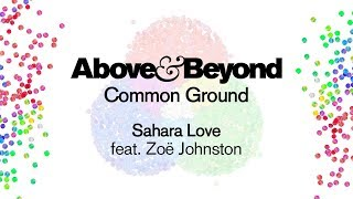 Above & Beyond feat. Zoë Johnston - Sahara Love