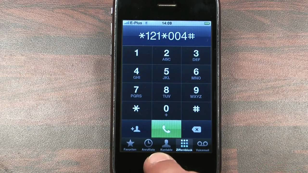 how to set up voicemail with aldi on iphone