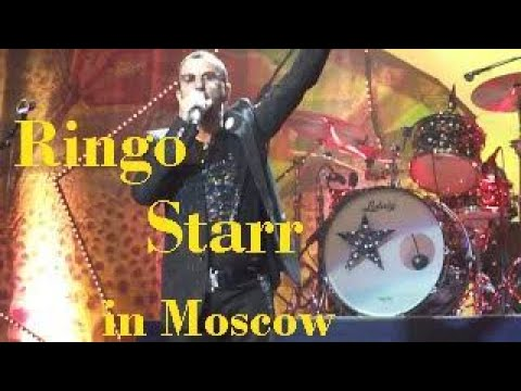 Ringo Starr in Moscow 6 june 2011