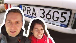 Jedziemy Po Dowód Rejestracyjny Do Przyczepy Kempingowej + Montaż Blach (Vlog #48)