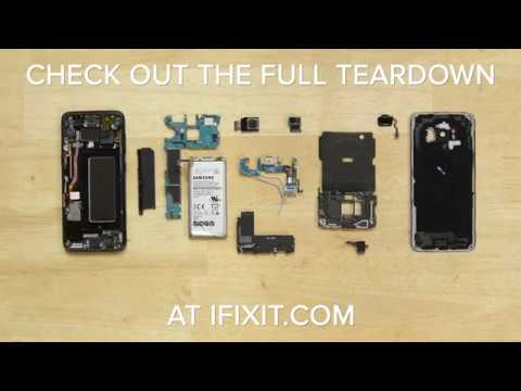The Galaxy S8 Disassembly in 90 seconds
