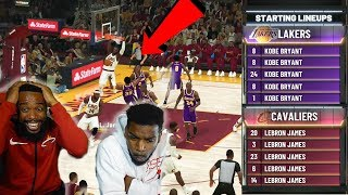 5 LEBRON'S vs 5 KOBE'S! WHO WILL WIN? YOUNG & PRIME BASKETBALL LINEUP!