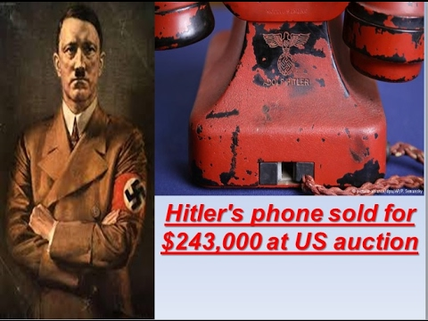 Hitler phone sold for $243,000 at US auction