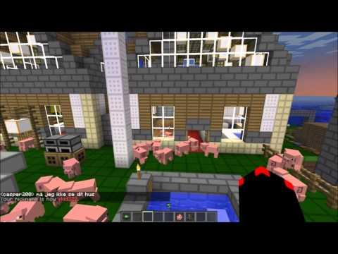 Gexpgaming Minecraft (Dansk) server part 4.