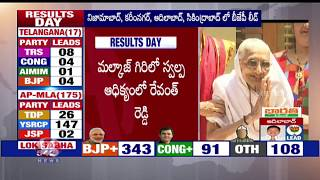 PM Modi's Mother Heeraben Greets BJP Victory In Lok Sabha Elections | V6 News