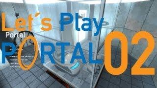 Lets Play Portal [Deutsch] # 002 Das ist kein Trinkwasser !