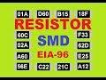 Gambar cover Como Ler os Codigos de Resistor SMD e Identificar o Valor Padrão e EIA 96
