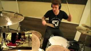 Memphis May Fire / Jake Garland Grenade Official Drum Video