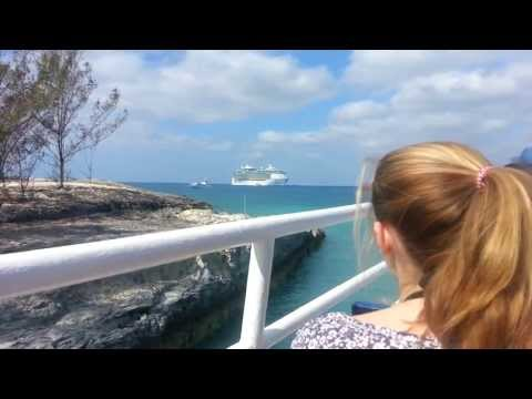 Royal Caribbean Freedom of the Seas Tendering Back to Boat