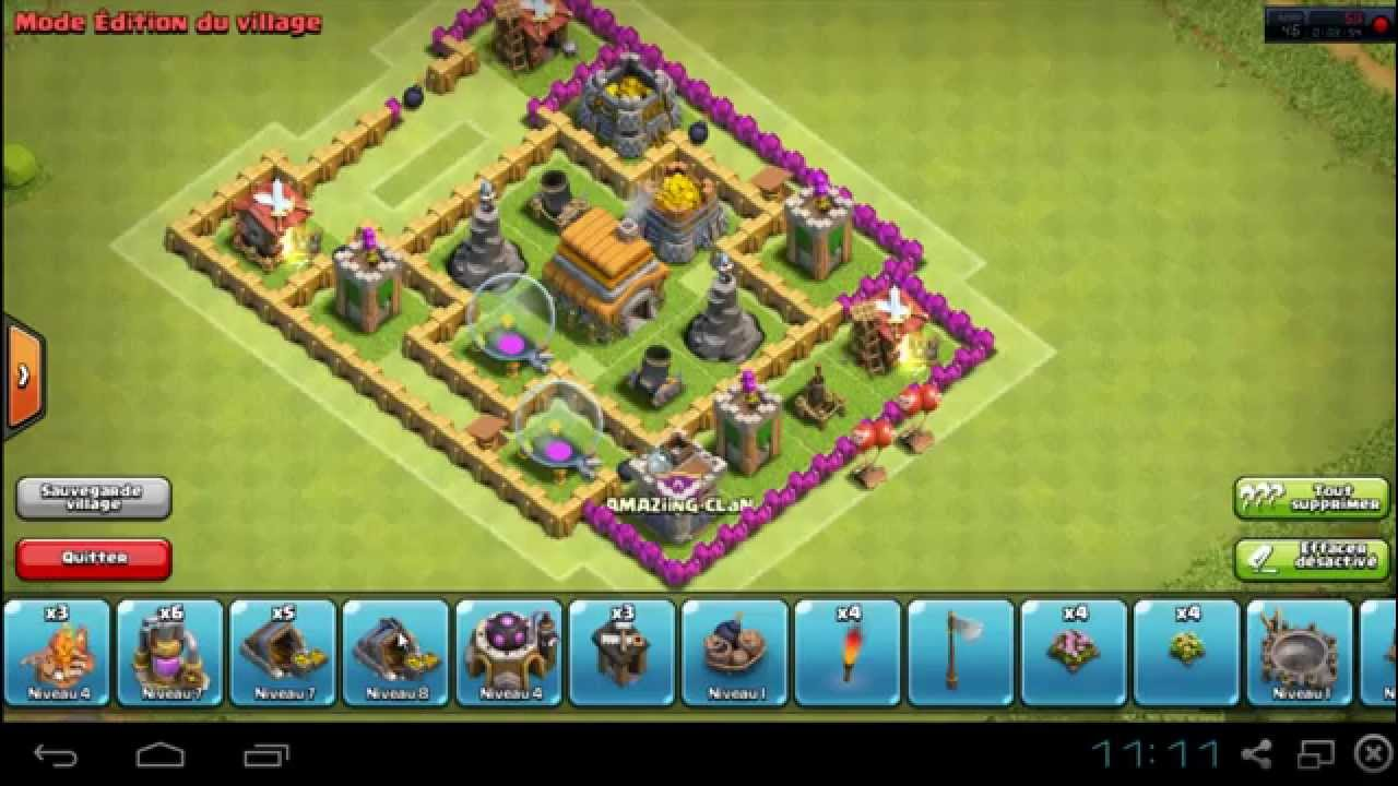 Clash Of Clan Hotel De Ville Niveau