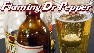 Flaming Dr Pepper  -thefndc.com
