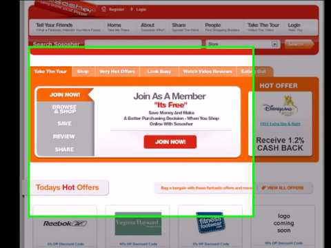 Cashback, Customer Reviews, Discount Codes  Yes Its Sososher