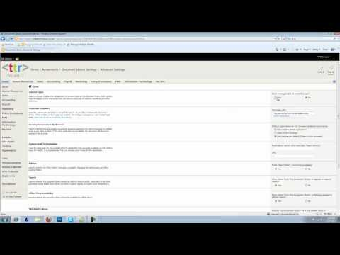 Create & Add Multiple Content Types To A Document Library In SharePoint 2010