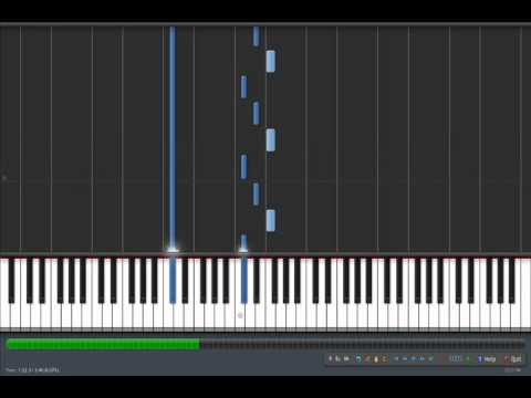Mayday Parade Terrible Things Synthesia Tutorial