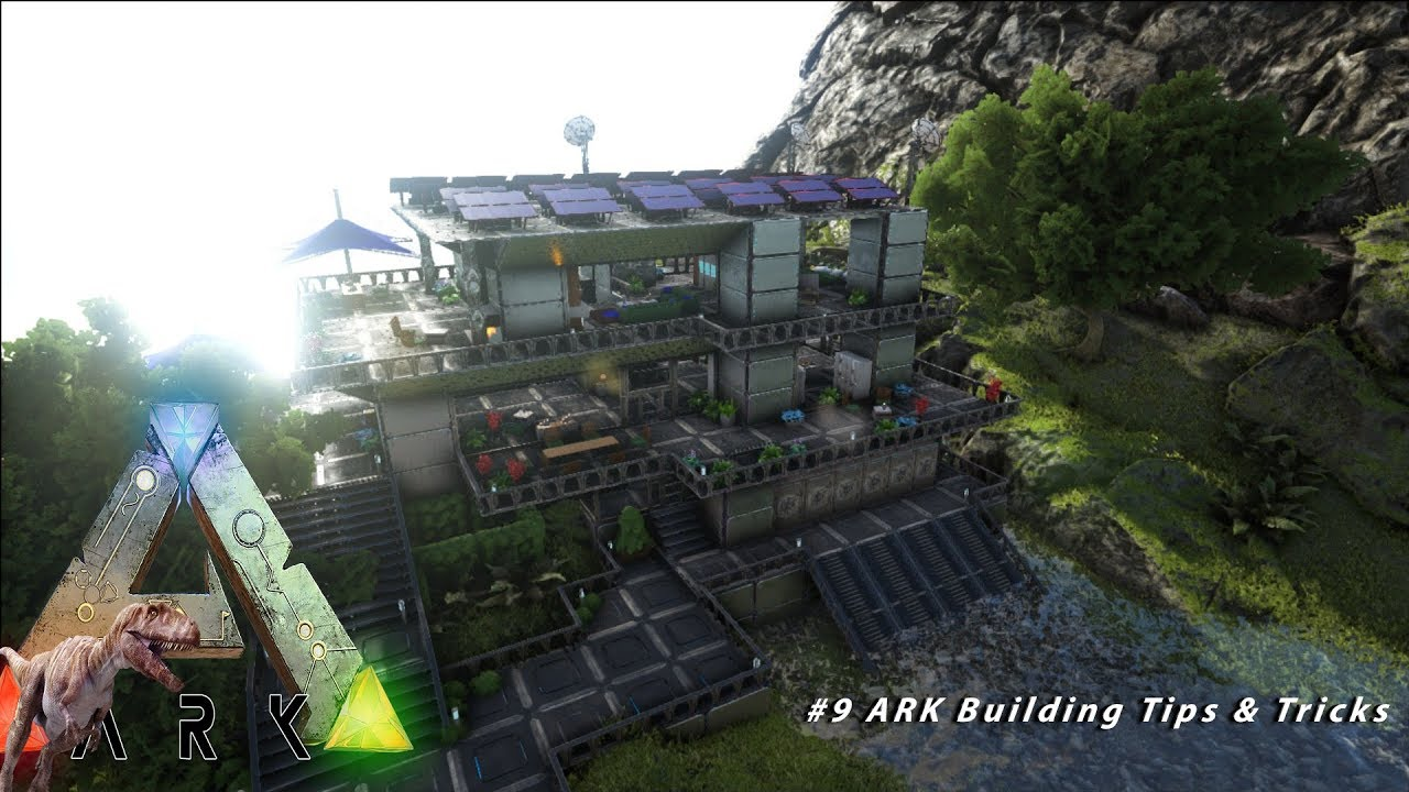 Ark Building Modernes Tek Haus Base 8 Pc 1080p 60 Fps Youtube