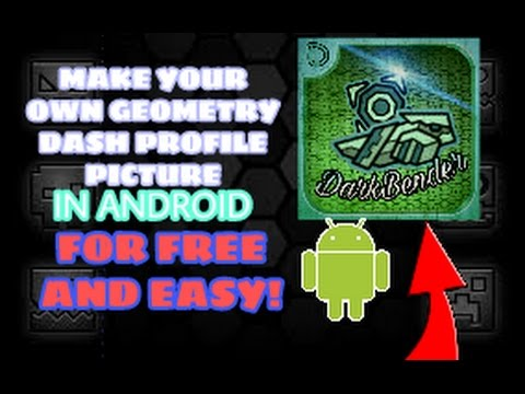How To Create Your Own Geometry Dash Profile Picture! [Free And EASY!] (2018)
