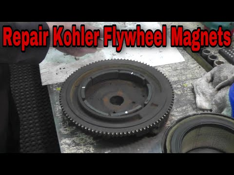 how-to-repair-kohler-flywheel-magnets-to-fix-charging-system